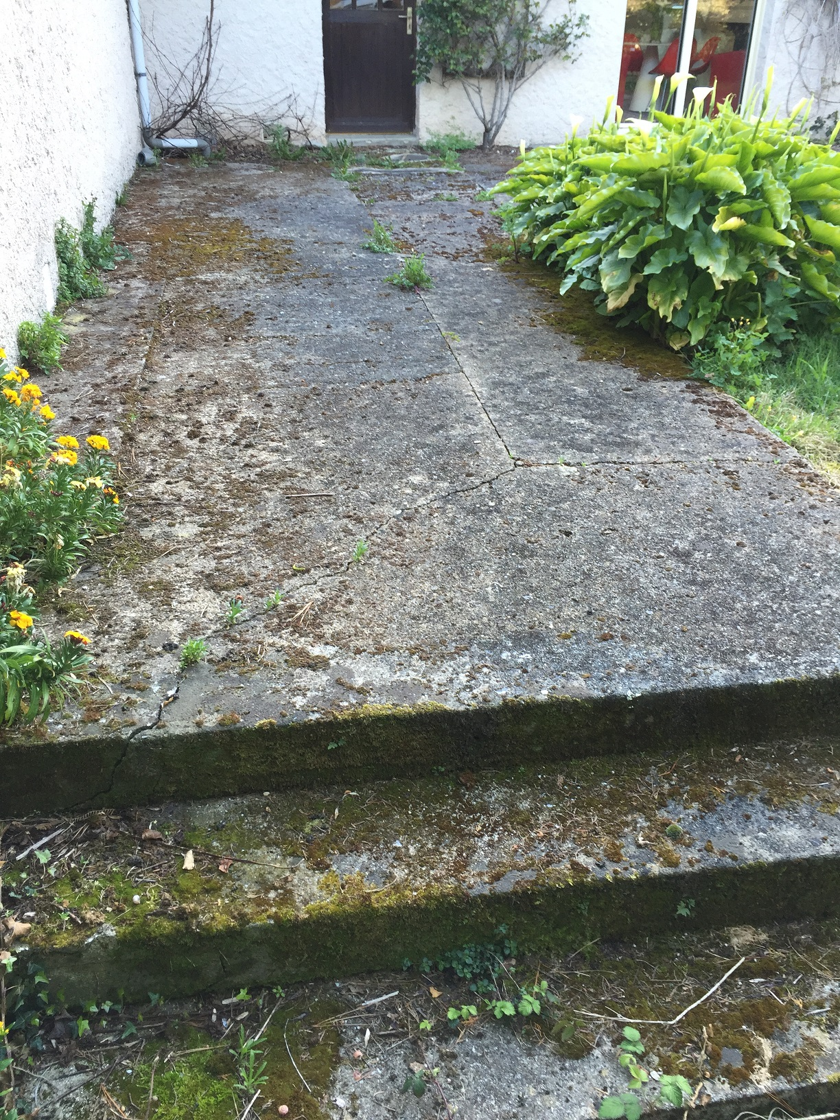 Rénovation terrasse AVANT